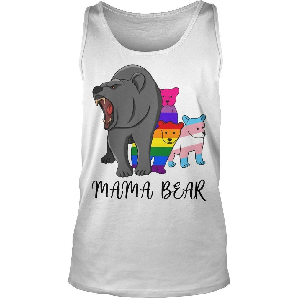 Lgbt Angry Mama Bear Tank Top