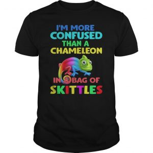 Lgbt I'm More Confused Than A Chameleon In A Bag Of Skittles Shirt