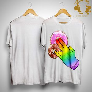 Lgbt Only Human Just Love Donut Cake Shirt