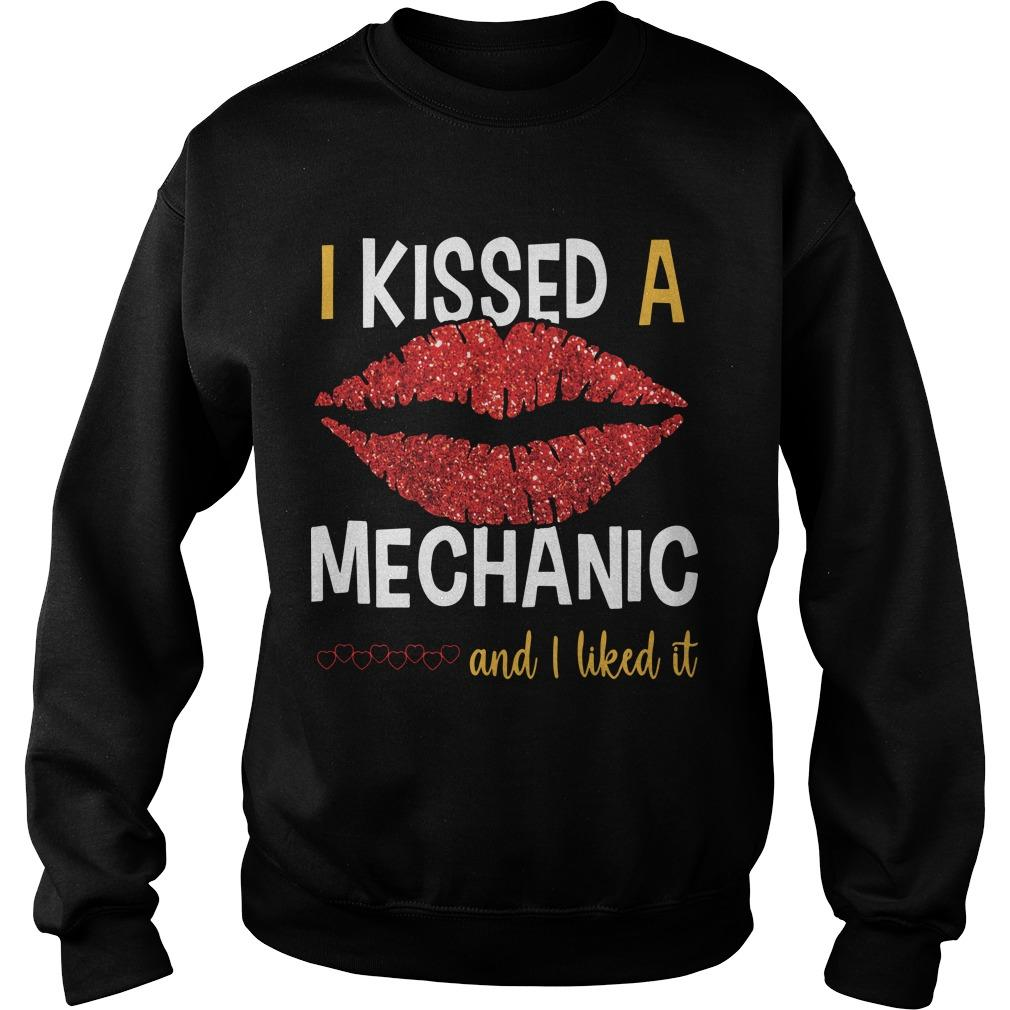 Lip I Kissed A Mechanic And I Liked It Sweater