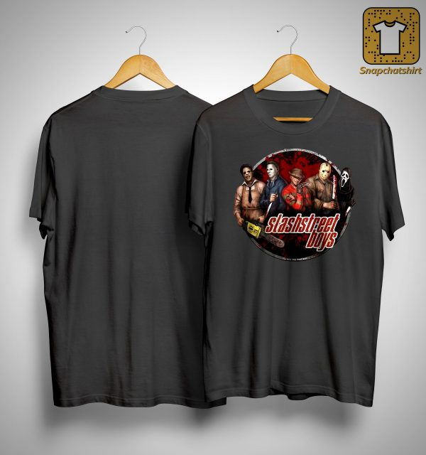 Michael Myers Jason Voorhees Slashstreet Boys Shirt
