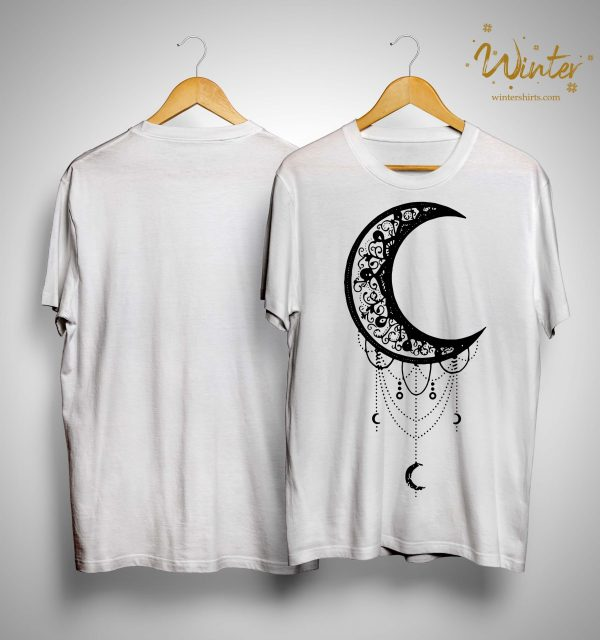 Moon Aesthetic Lunar Artsy Goth Witchy Shirt