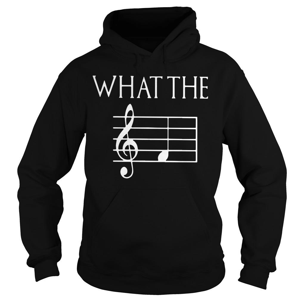 Musicians Lover What The Hoodie