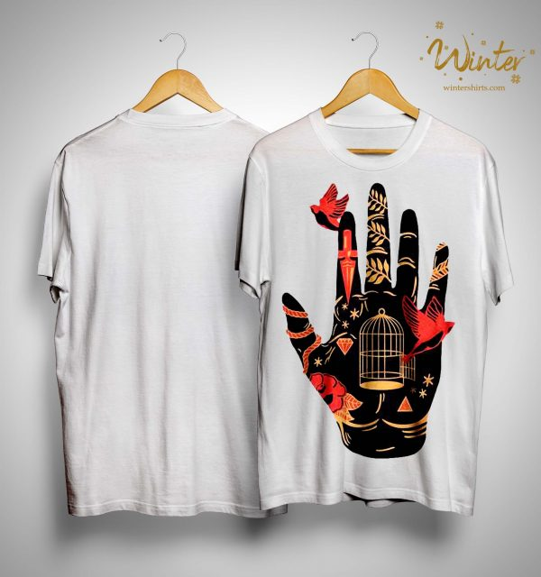 Palmistry Hand Witch Halloween Shirt