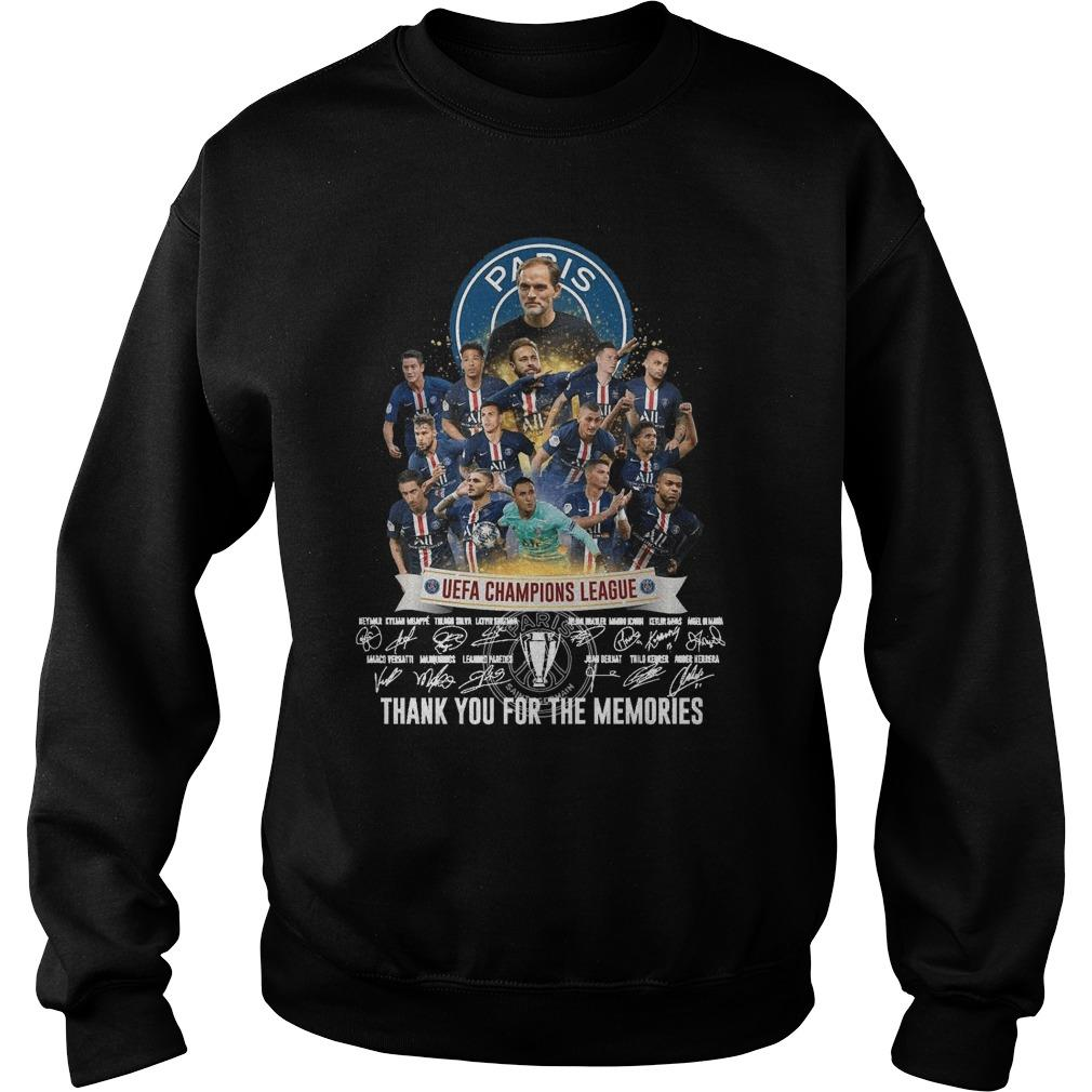 Paris Uefa Champions League Thank You For The Memories Sweater