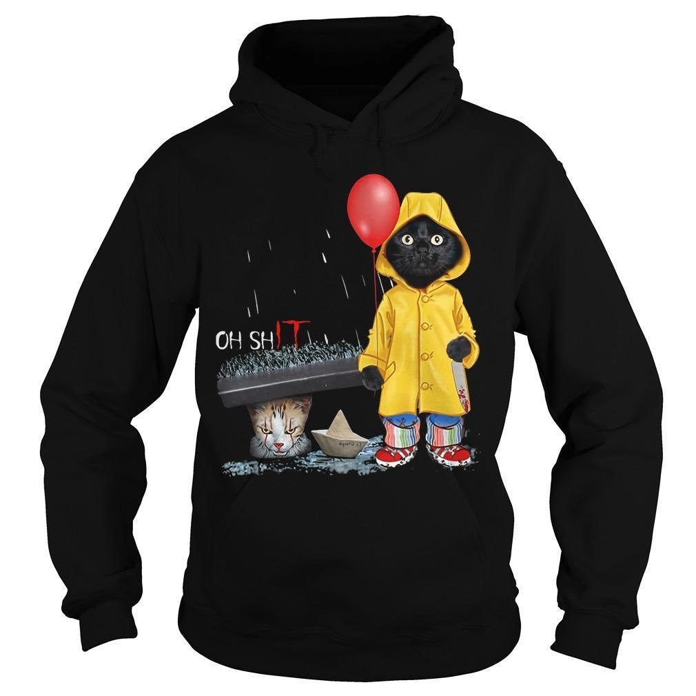 Pennywise Black Cat Oh Shit Hoodie