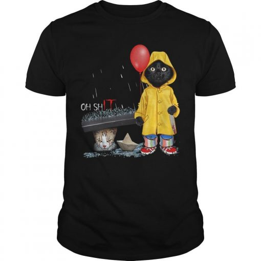 Pennywise Black Cat Oh Shit Shirt