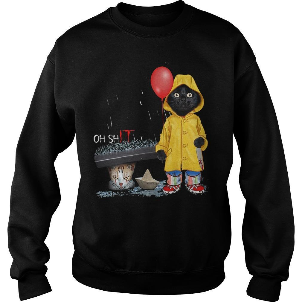 Pennywise Black Cat Oh Shit Sweater