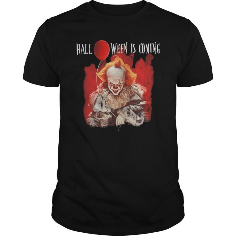Pennywise Halloween Is Coming Shirt