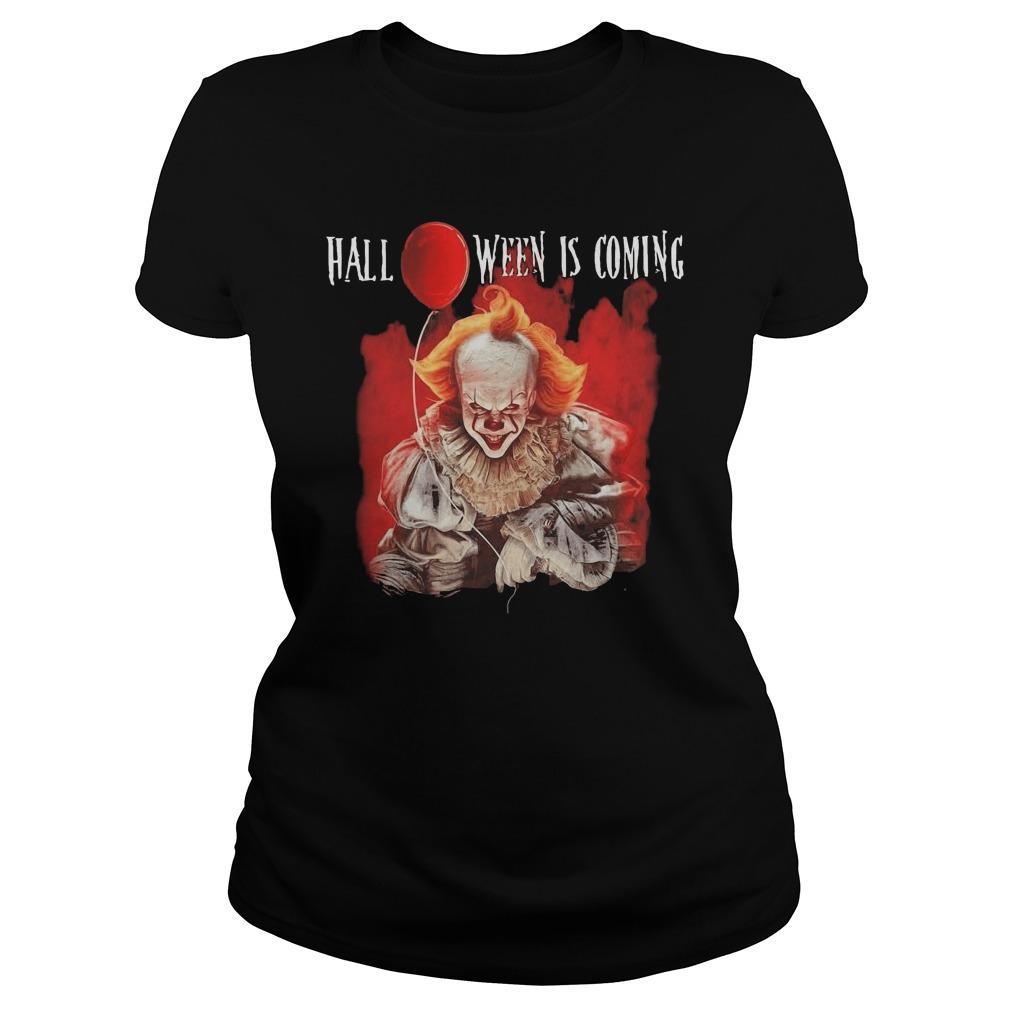 Pennywise Halloween Is Coming Tank Top