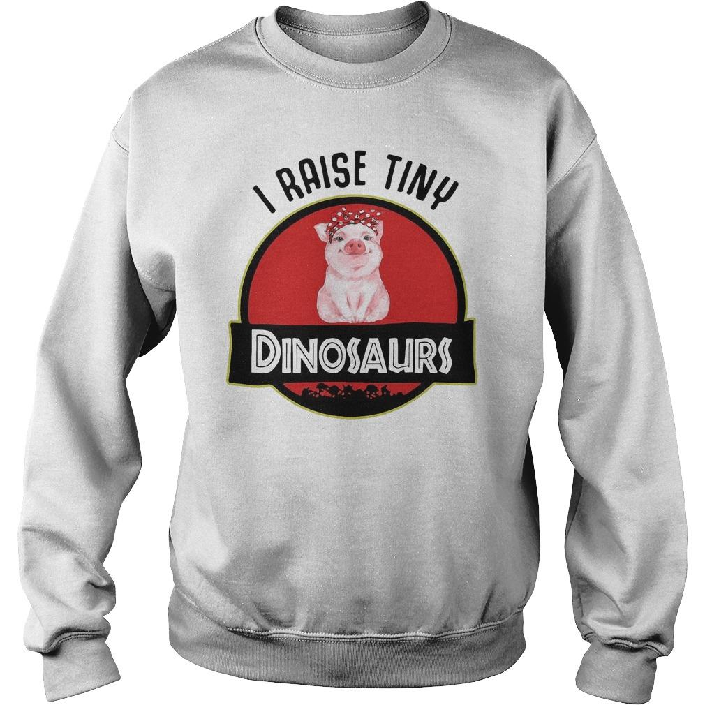 Pig I Raise Tiny Dinosaurs Sweater