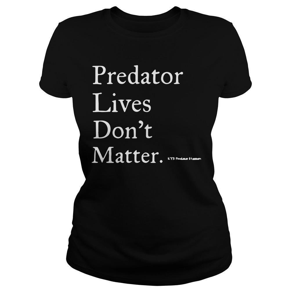Predator Lives Don't Matter Longsleeve
