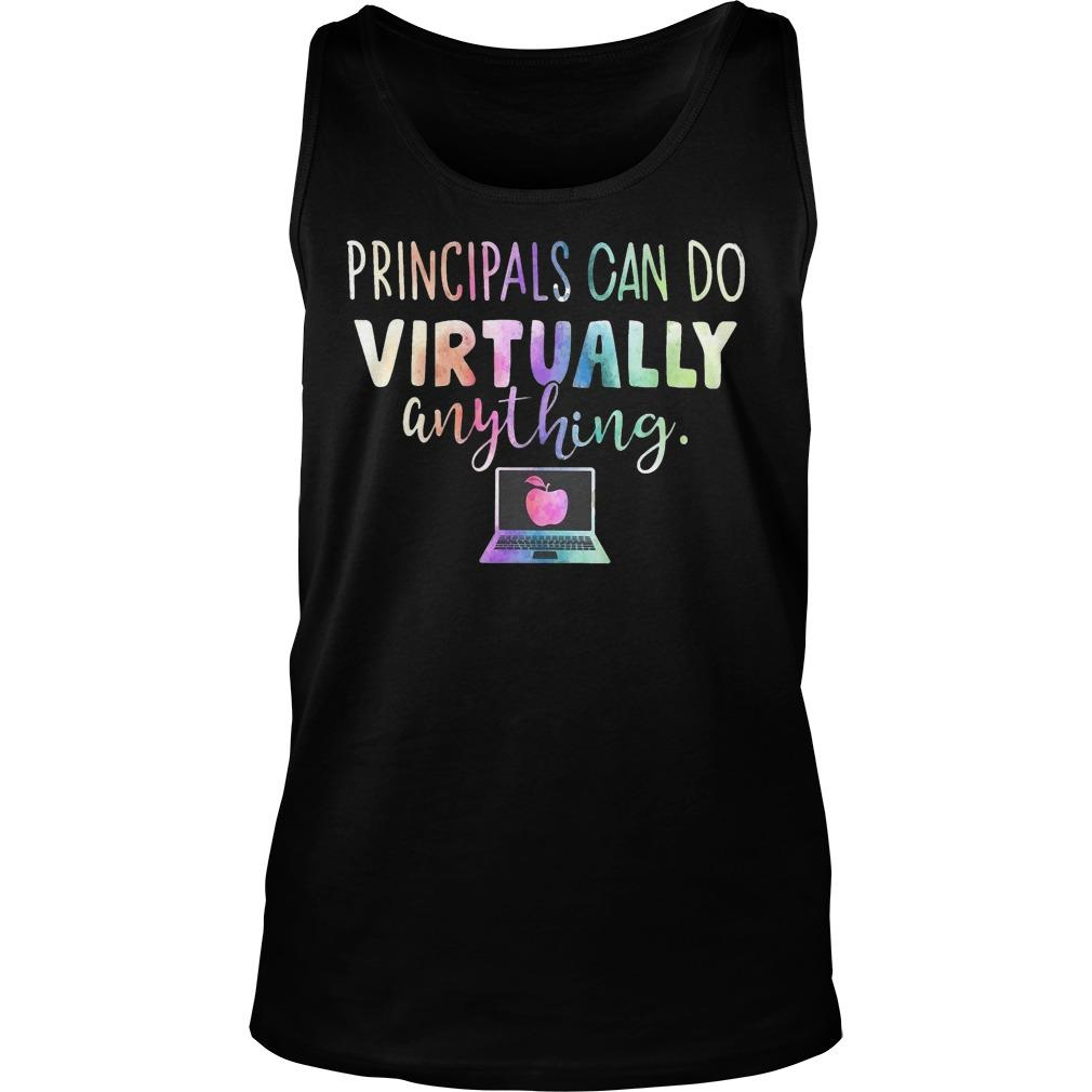 Principals Can Do Virtually Anything Tank Top