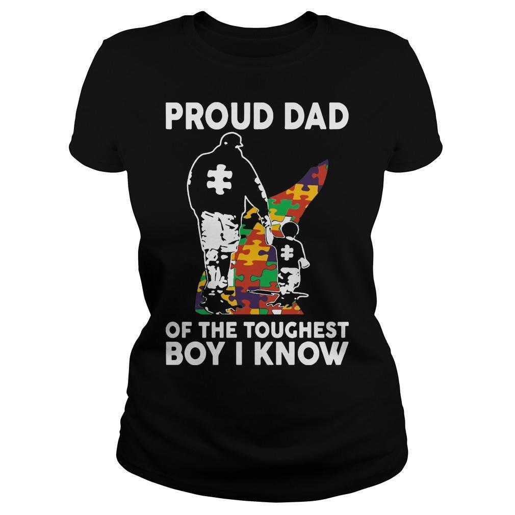 Proud Dad Of The Toughest Boy I Know Longsleeve