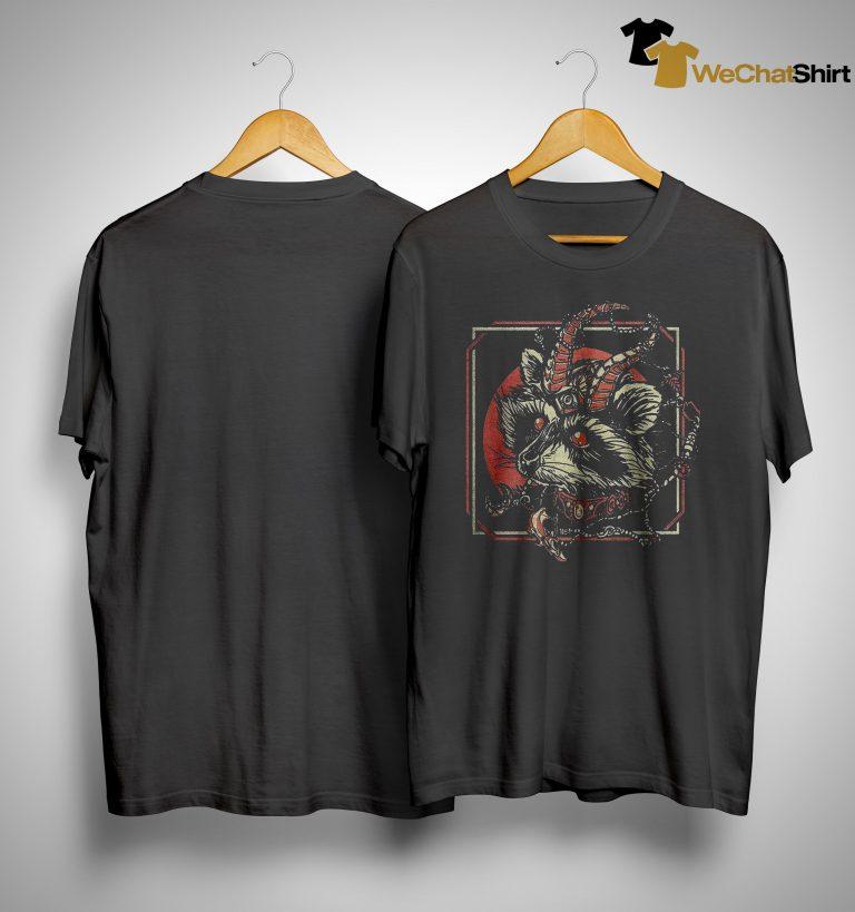 Raccoon Gothic Satan Shirt