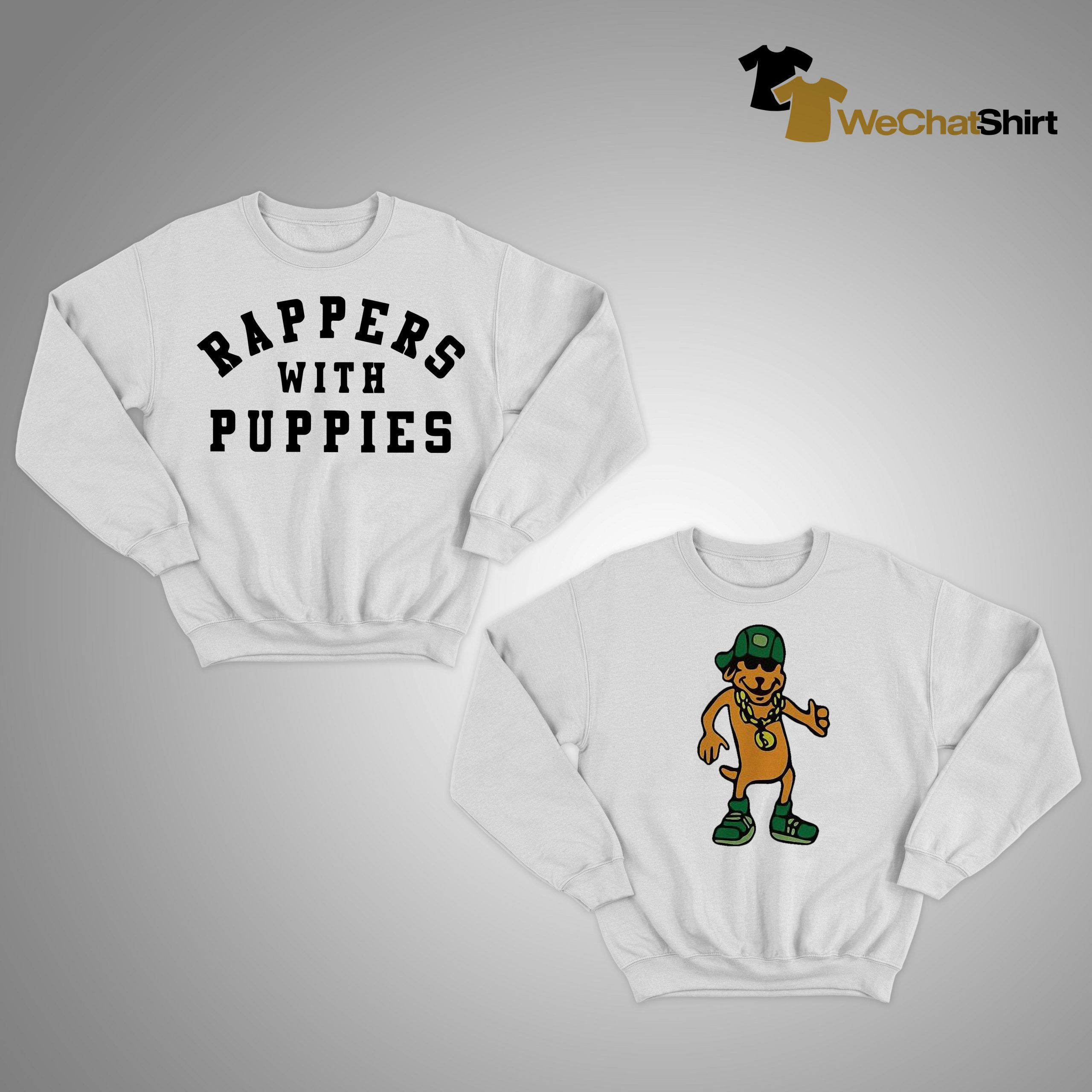 Rappers With Puppies Sweater