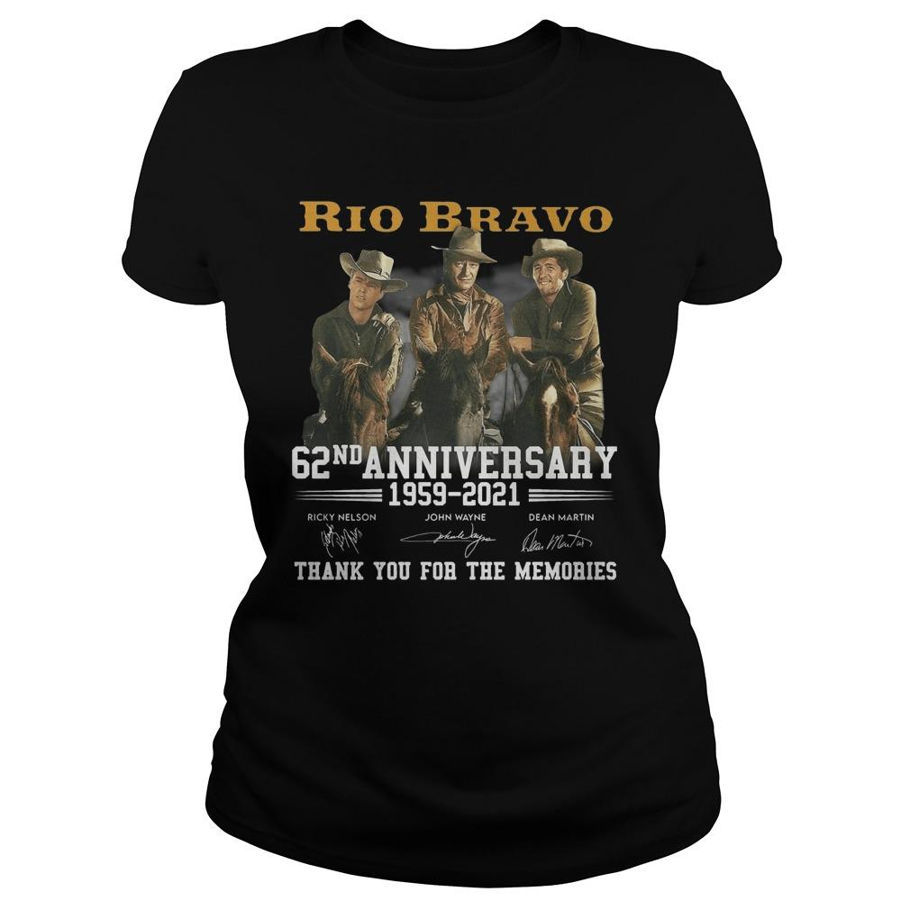 Rio Bravo 62nd Anniversary Thank You For The Memories Tank Top