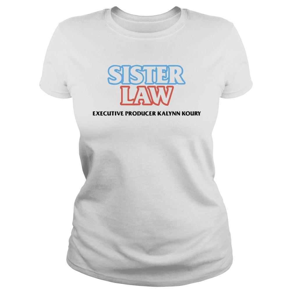 Sister Law Executive Producer Kalynn Koury Sweater