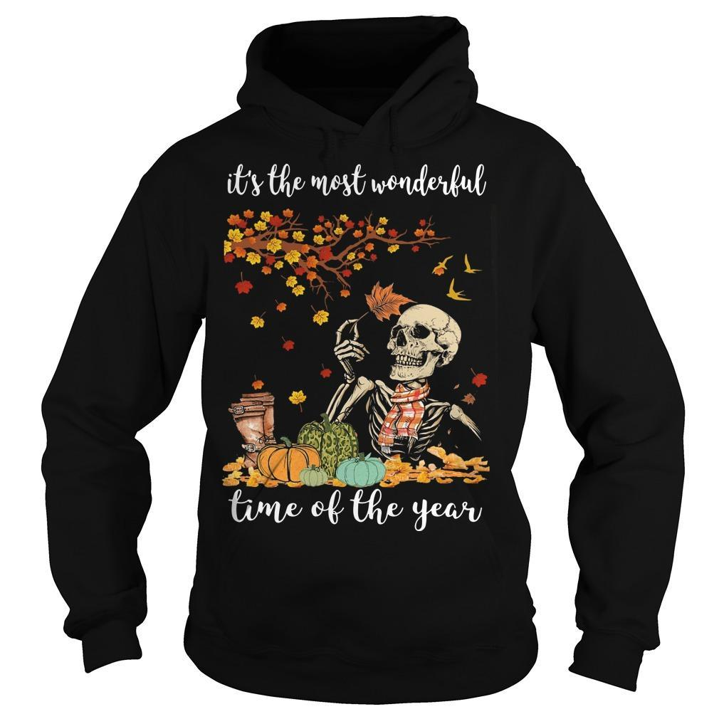 Skull It's The Most Wonderful Time Of The Year Hoodie