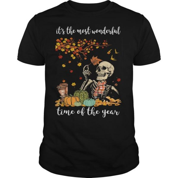 Skull It's The Most Wonderful Time Of The Year Shirt