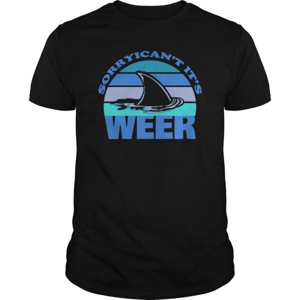 Sorry I Can't It's Week Shark Week Shirt
