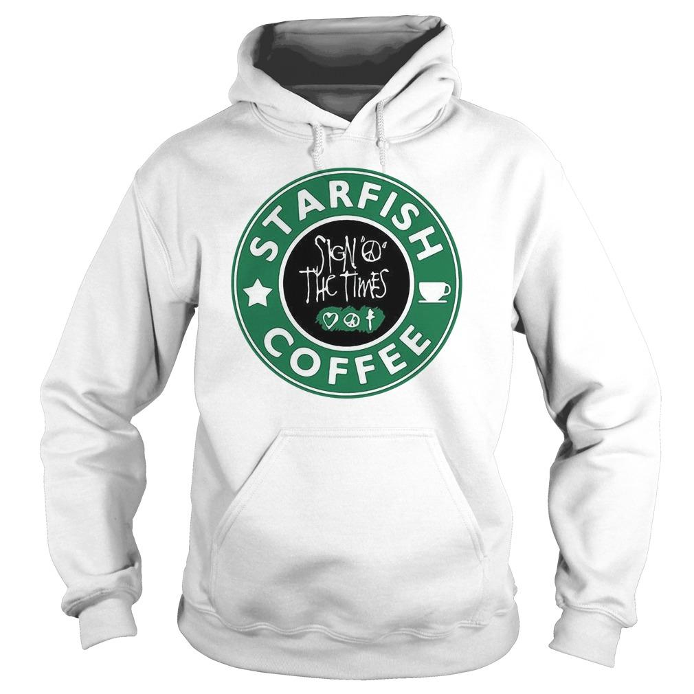 Starfish Coffee Sign Peace The Times Hoodie