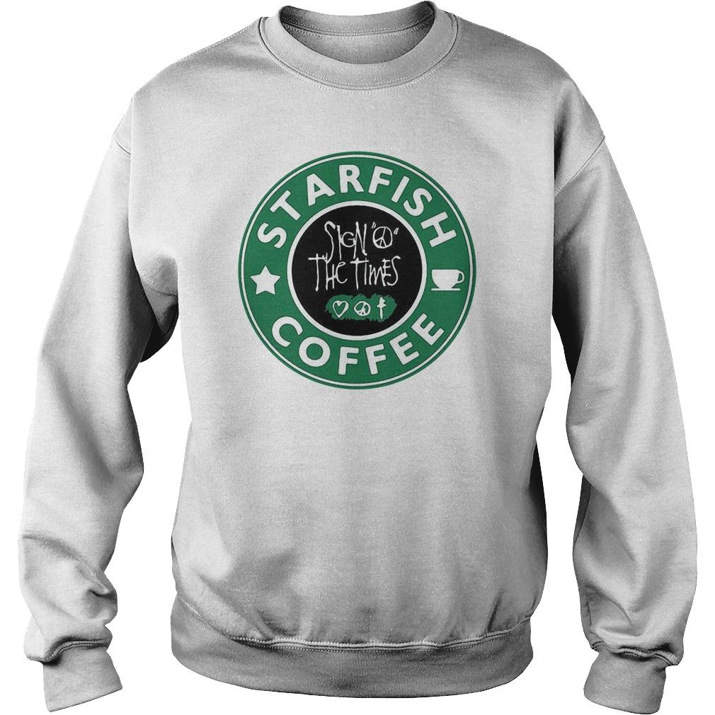 Starfish Coffee Sign Peace The Times Sweater