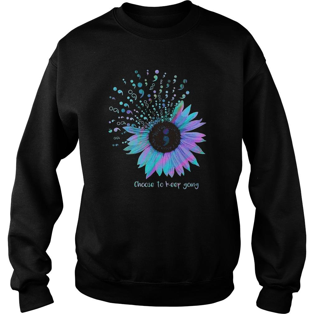 Sunflower Choose To Keep Going Sweater