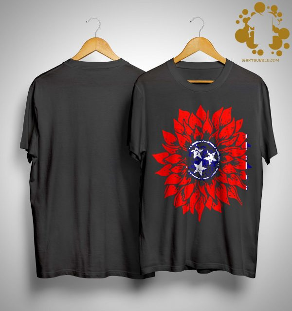 Sunflower Tennessee Flag Shirt