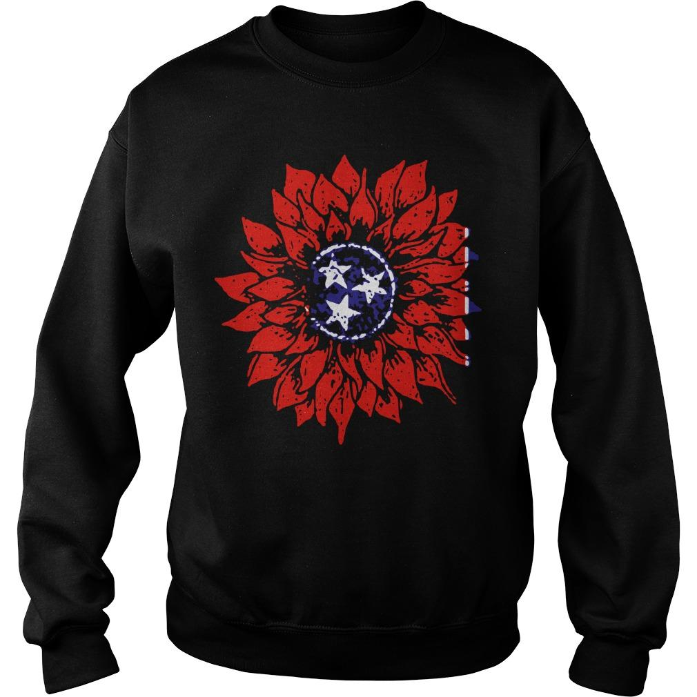Sunflower Tennessee Flag Sweater