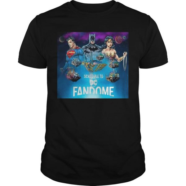 Team Fandome Logo Premium Schedule To Dc Fandome Shirt