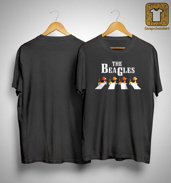 The Beagles The Walking Abbey Road Shirt