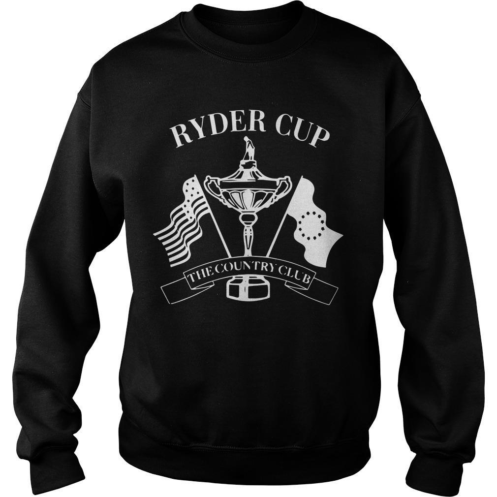 The Country Club 1999 Ryder Cup Sweater