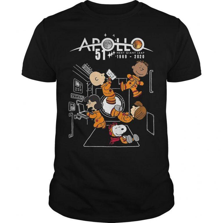 The Peanuts Apollo 51 Next Giant Leap Shirt
