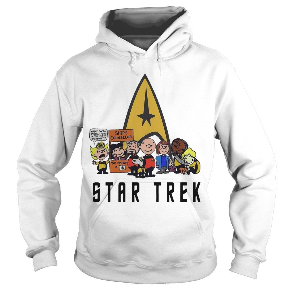 The Peanuts Star Trek Hoodie
