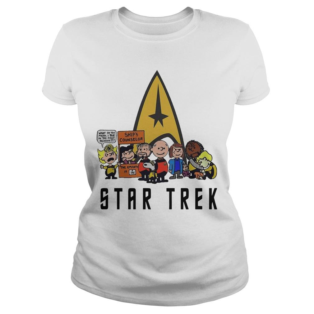 The Peanuts Star Trek Longsleeve