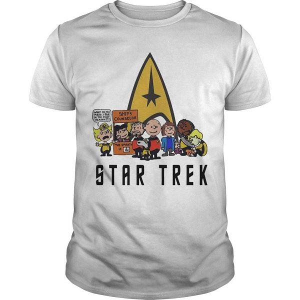 The Peanuts Star Trek Shirt