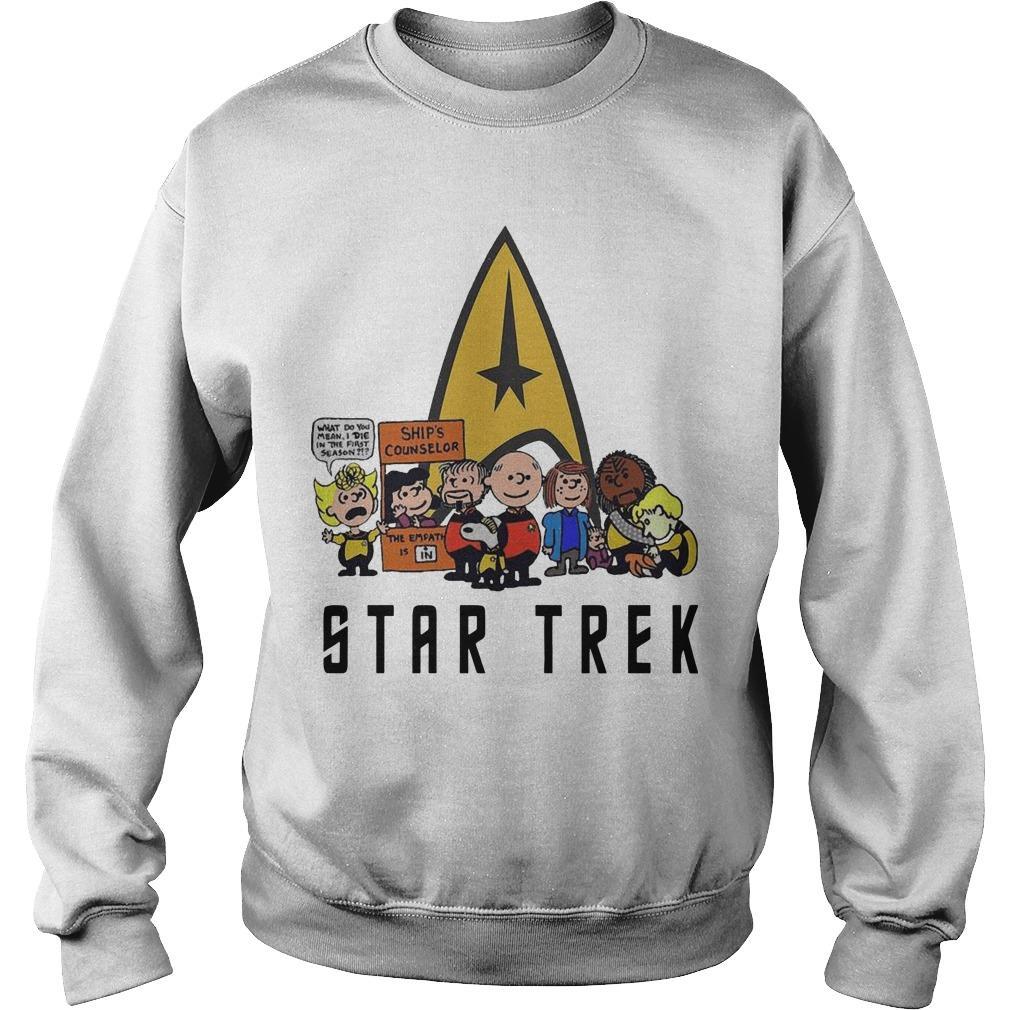 The Peanuts Star Trek Sweater