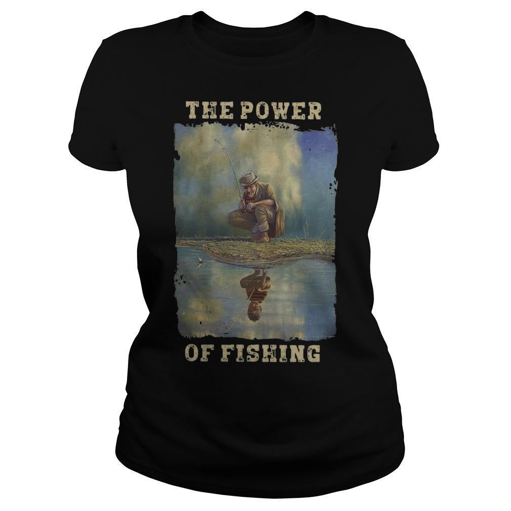 The Power Of Fishing Longsleeve