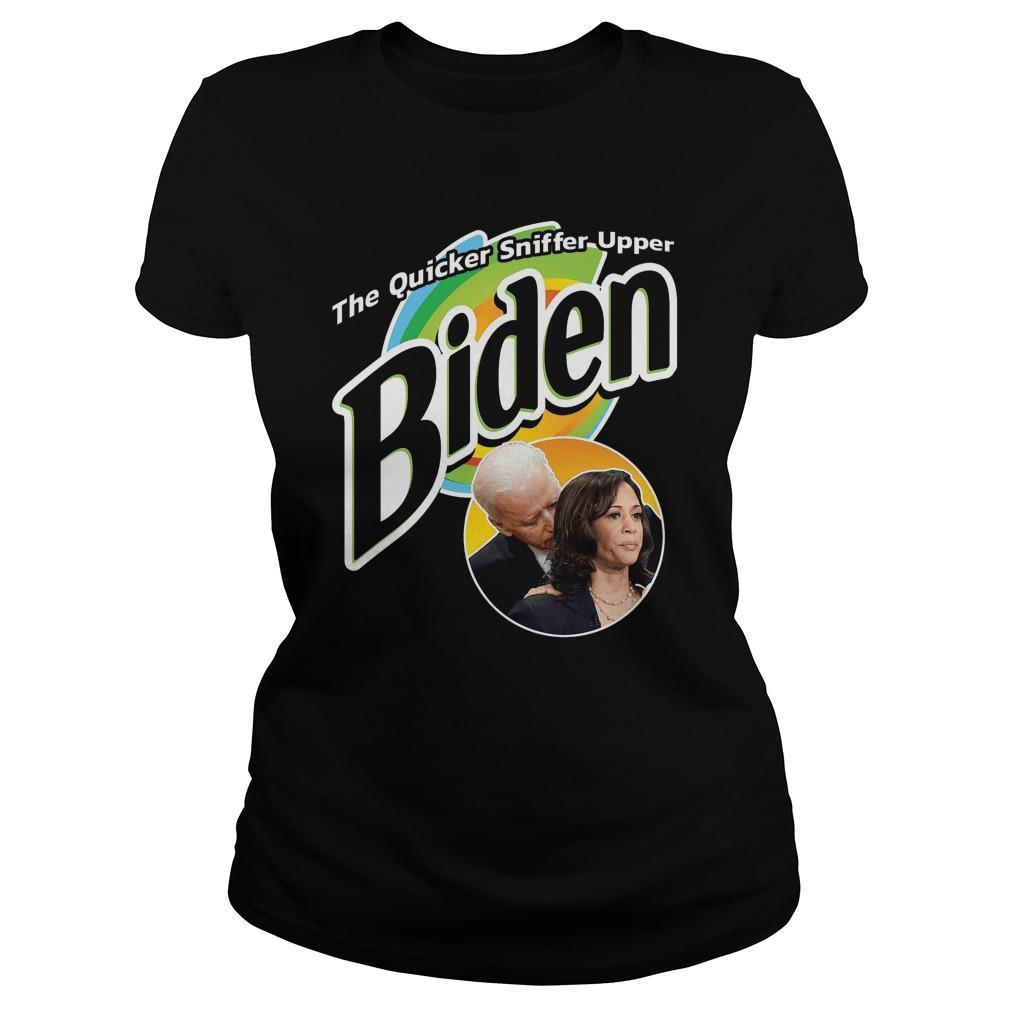 The Quicker Sniffer Upper Biden Longsleeve