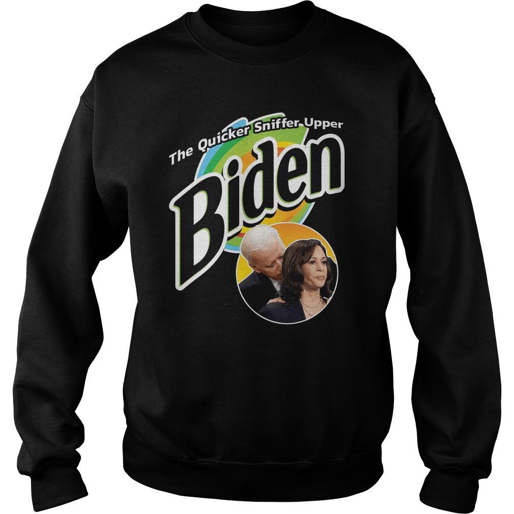 The Quicker Sniffer Upper Biden Sweater