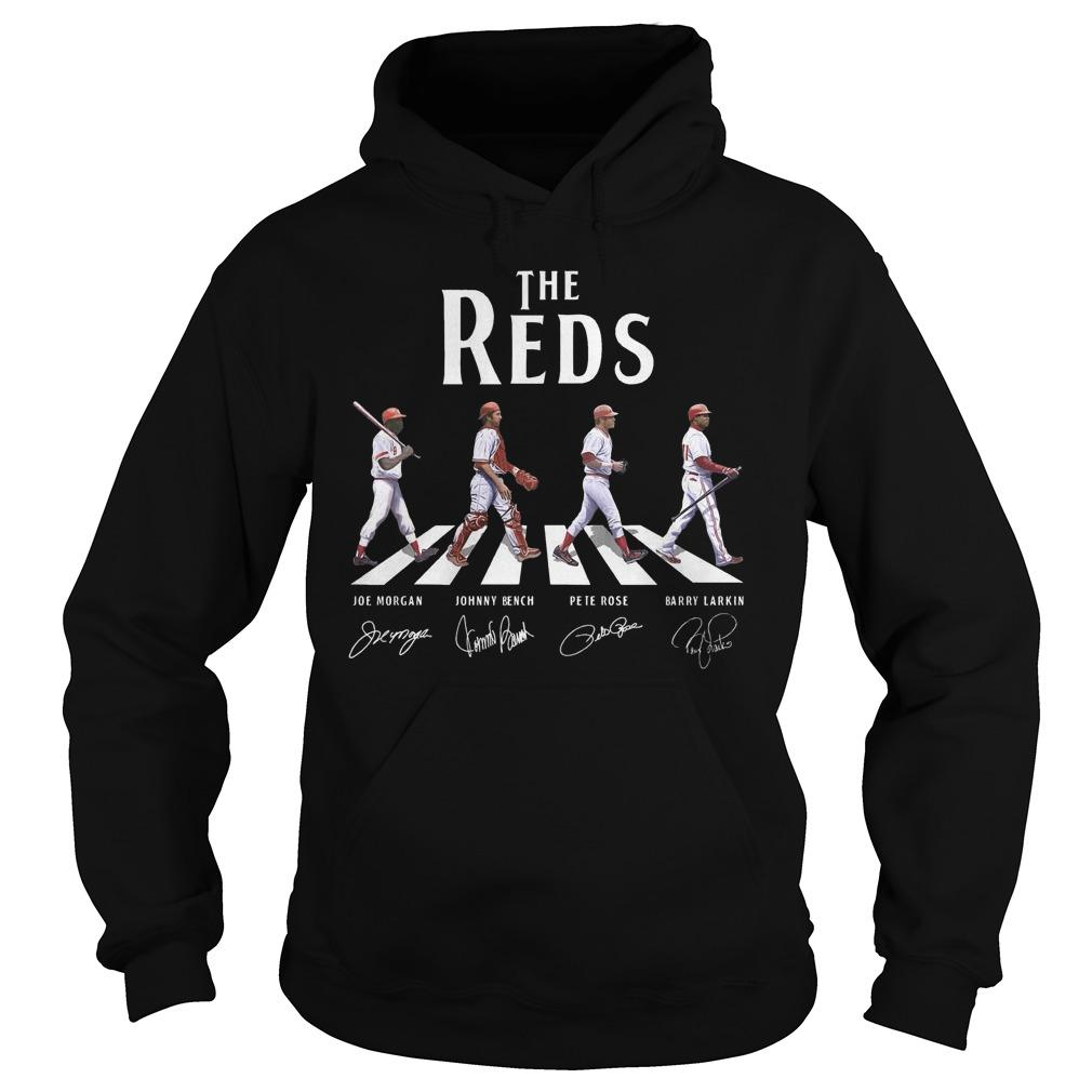 The Reds Walking The Abbey Road Signature Hoodie