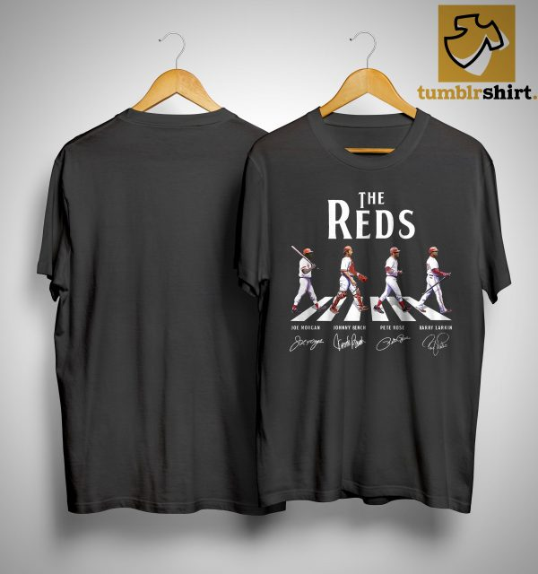 The Reds Walking The Abbey Road Signature Shirt