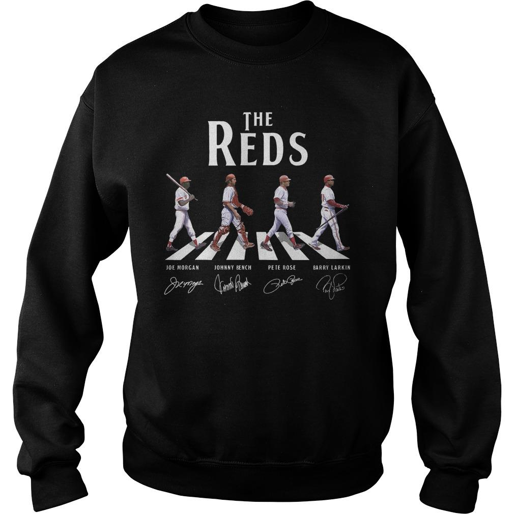 The Reds Walking The Abbey Road Signature Sweater