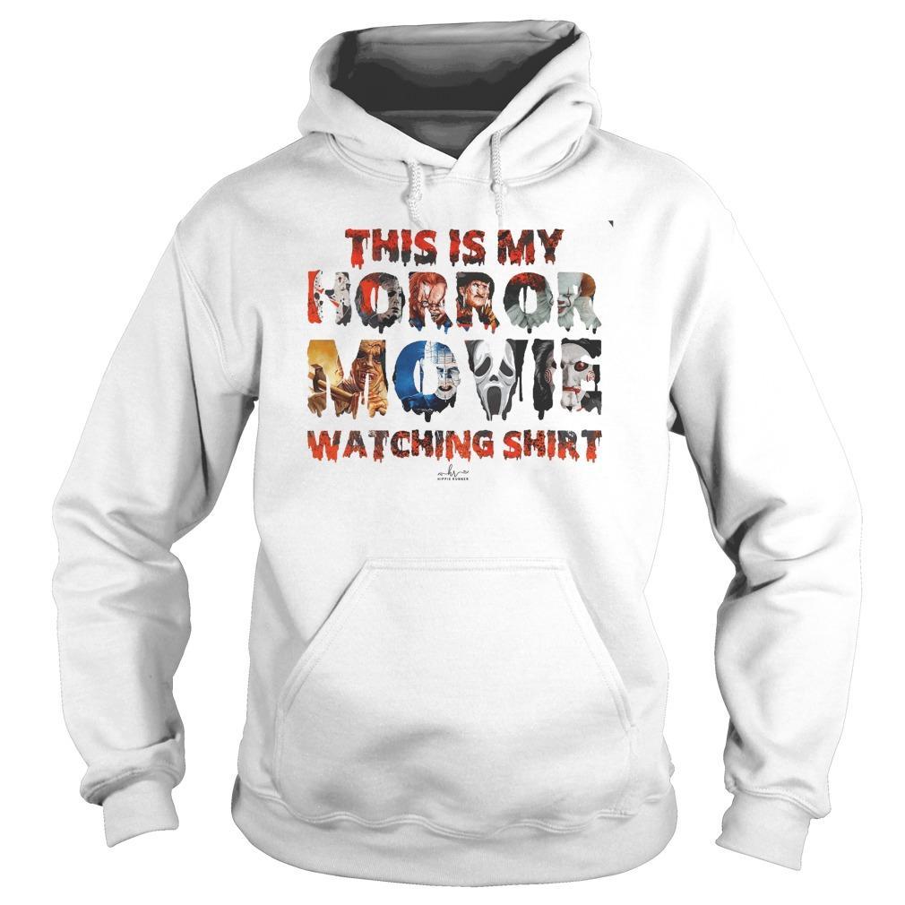 This Is My Horror Movie Watching Hoodie