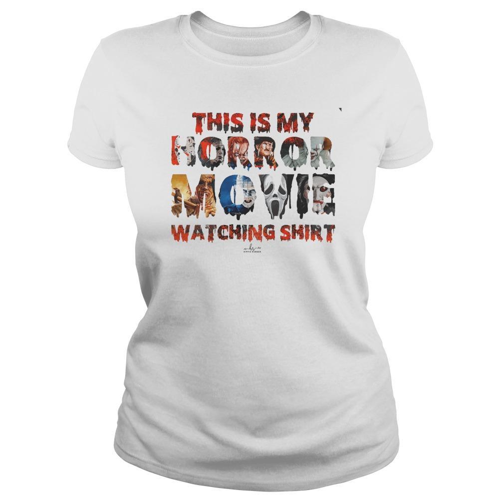 This Is My Horror Movie Watching Longsleeve
