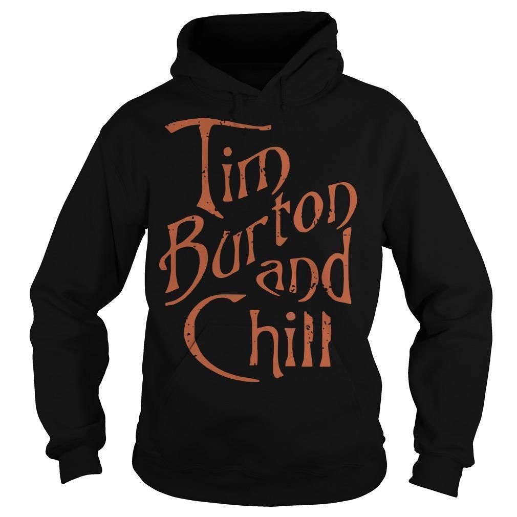 Tim Burton And Chill Hoodie