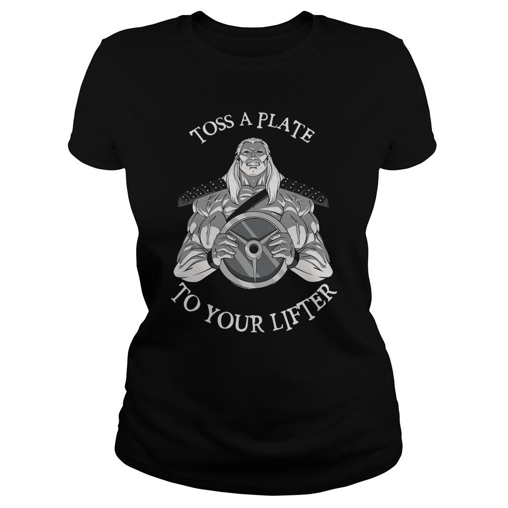 Toss A Plate To Your Lifter Hoodie