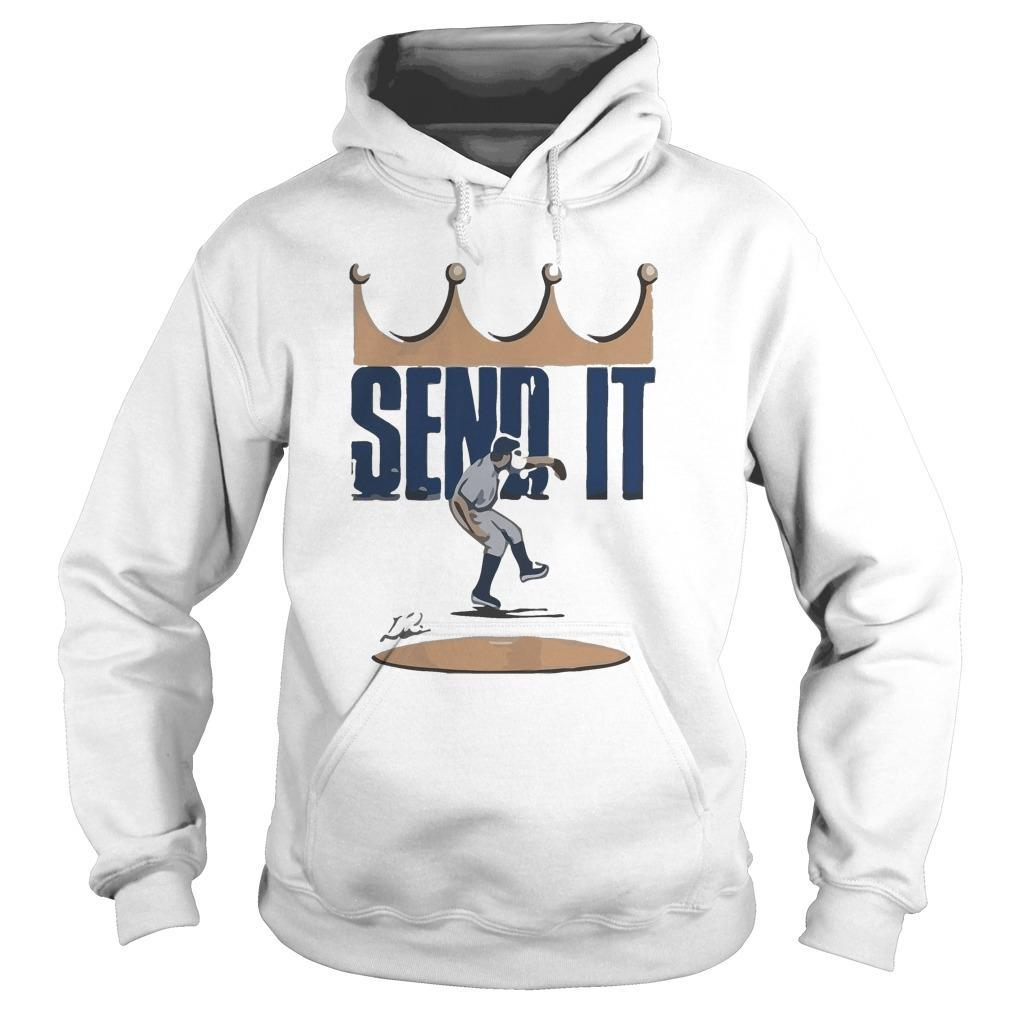 Trevor Bauer Send It Hoodie