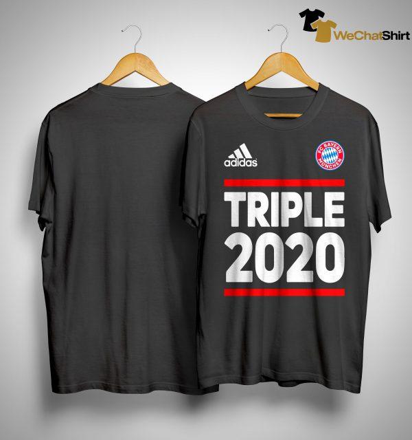 Triple T Shirt Fc Bayern
